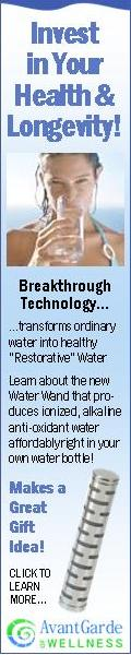 Transforms ordinary water into healthy restorative water