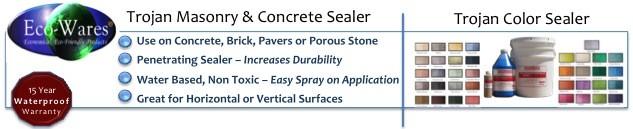 Trojan Masonry & Concrete Sealer