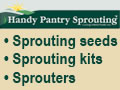 Sprouting seedsm sprouting kits, sprouters