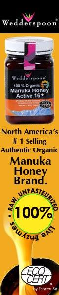 Authentic organic Manuka honey brand
