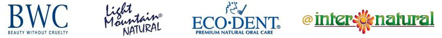 green products from ecodent, beauty without cruelty, light mountain, internatural