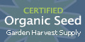 Certified Organic Seed by Garden Harvest Supply