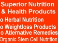 herbal nutrition and health products