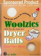 Woolzies Dryer Balls, Natural Laundry Softener