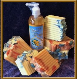 Discover the Feeling of Natural Ingredients and Pure Essential Oils in Handcrafted Castile Soap!