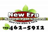 Natural pest control - family & pet friendly! 100% guaranteed - licensed & insured - no contracts