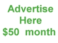 Advertise here $50 per month