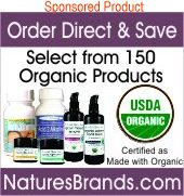 Order Direct & Save, select from 150 organic products